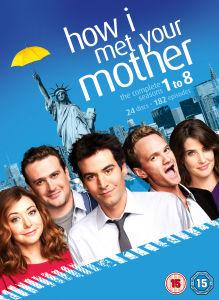 How I Met Your Mother - Staffel 1-8 DVD Boxset mit Englischer Tonspur jetzt nur noch für 21,05€[Zavvi]