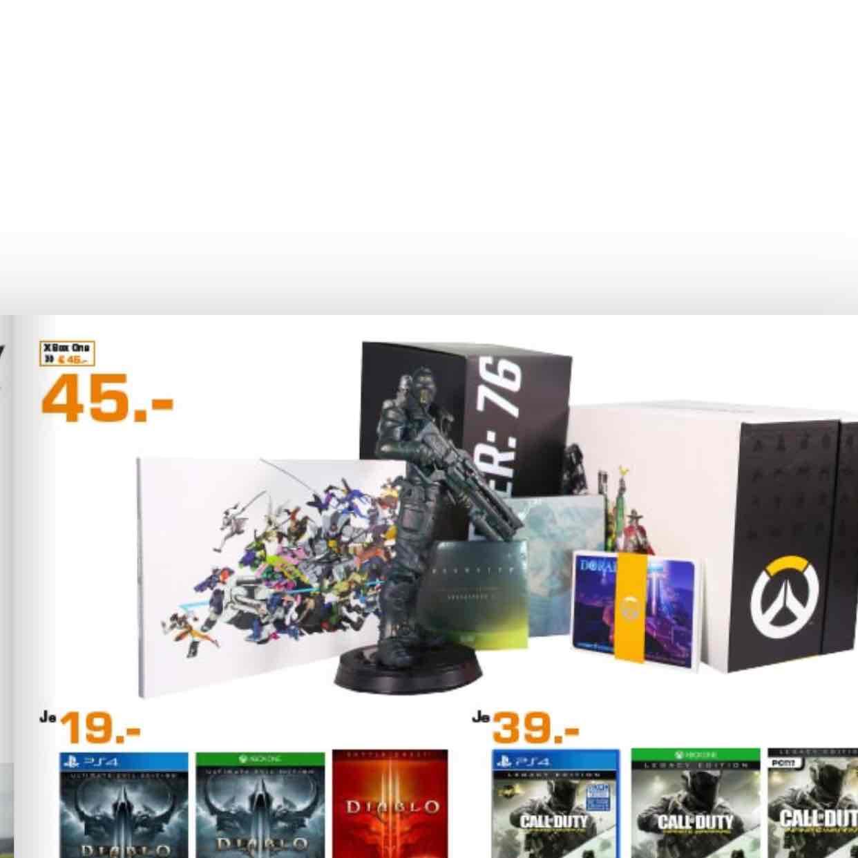 Lokal Saturn Märkte Hamburg & Norderstedt / Overwatch - Collector's Edition - [Xbox One] für 45€