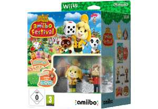 [Mediamarkt GDD] Animal Crossing: amiibo Festival inkl. Figuren und Karten [Nintendo Wii U] für 7,-€ Versandkostenfrei