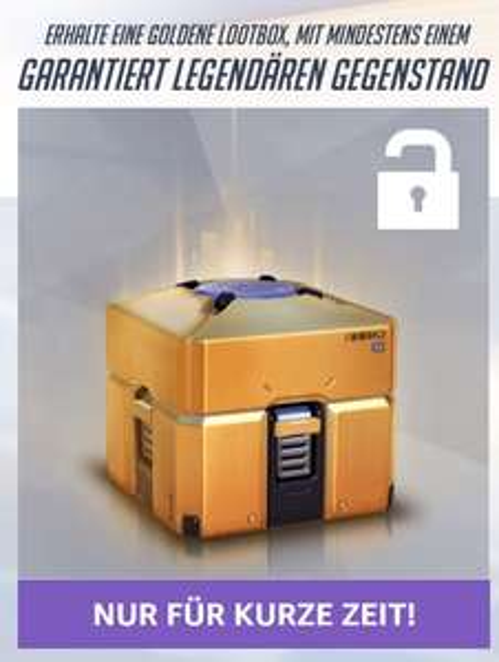 [Twitch Prime] Overwatch: Kostenlose golden lootbox mit garantiertem legendary item