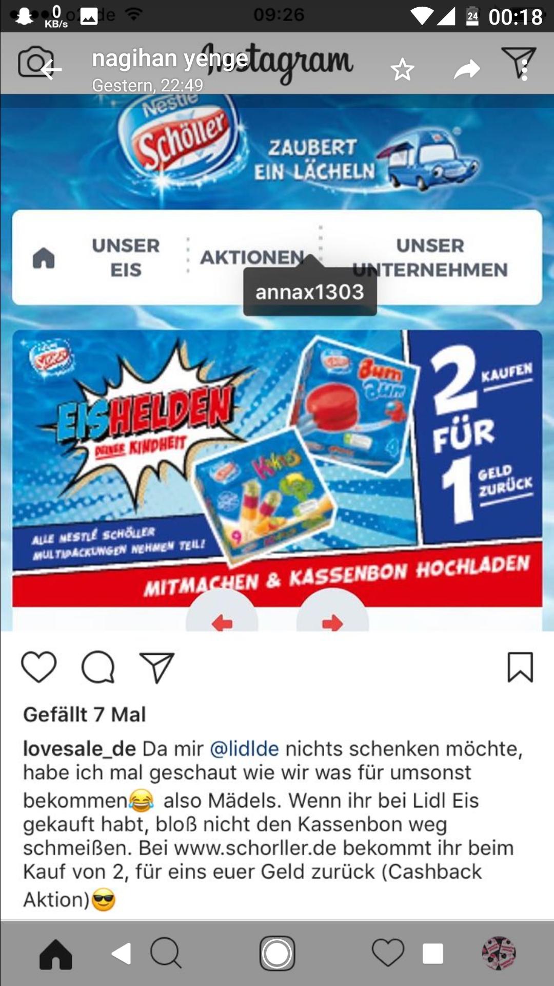 2 Packung BumBum durch cashback und auf Angebot in lidl Berlin auf 1,88€