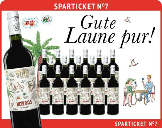Der Alt bekannte Rotwein -> Nembus Jahrgang 2016 -> 18 Flaschen (je Flasche 2,69€) und 1 Korkenzieher (nichts besonders!) aber geschenkt