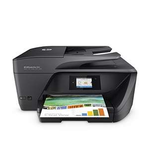 [Amazon] HP OfficeJet Pro 6960 Multifunktionsdrucker (Drucker, Scanner, Kopierer, Fax, HP Instant Ink ready, WLAN, LAN, HP ePrint, Apple Airprint, USB, 600 x 1200 dpi) schwarz (20€ Trade-In für Altgerät optional)
