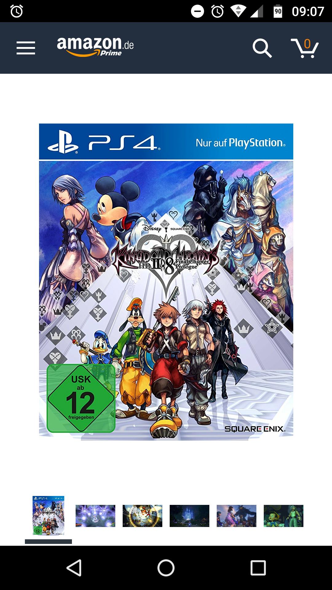 Kingdom Hearts HD 2.8 billiger für Prime Mitglieder