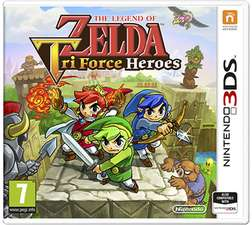 The Legend of Zelda: Triforce Heroes (3DS) für 14,68€ inkl. VSK (Game UK)