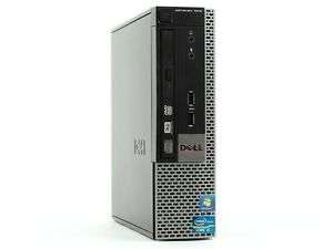 Mini PC Dell OptiPlex 7010 USFF i5 Quad Core 8GB RAM 320GB HDD DVD-RW Win 7 (refurbished)