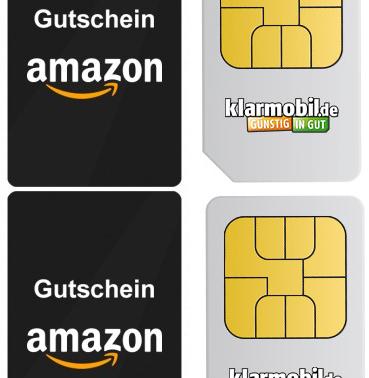 Klarmobil Handy-Spar-Duo für einmalig 3,90 € + 32 € Amazon Gutschein *wieder da*