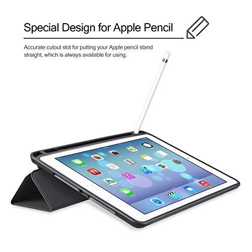 [Amazon.de] iVAPO iPad Pro 9.7 Hülle mit Apple Pencil Halter für 5,99 EUR statt 14,99 EUR, 3 versch. Farben verfügbar