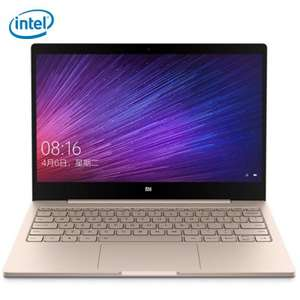 Xiaomi Air 12,5 1,07kg Notebook 12,5'' FHD IPS, Intel M3-6Y30, 4GB RAM, 128GB SSD, USB Typ-C, Wlan ac, Windows 10 Farbe GOLD für 395,07€