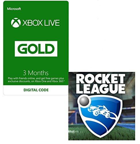 3 Monate Xbox Live Gold + Rocket League für 16,97€ (Amazon.co.uk)