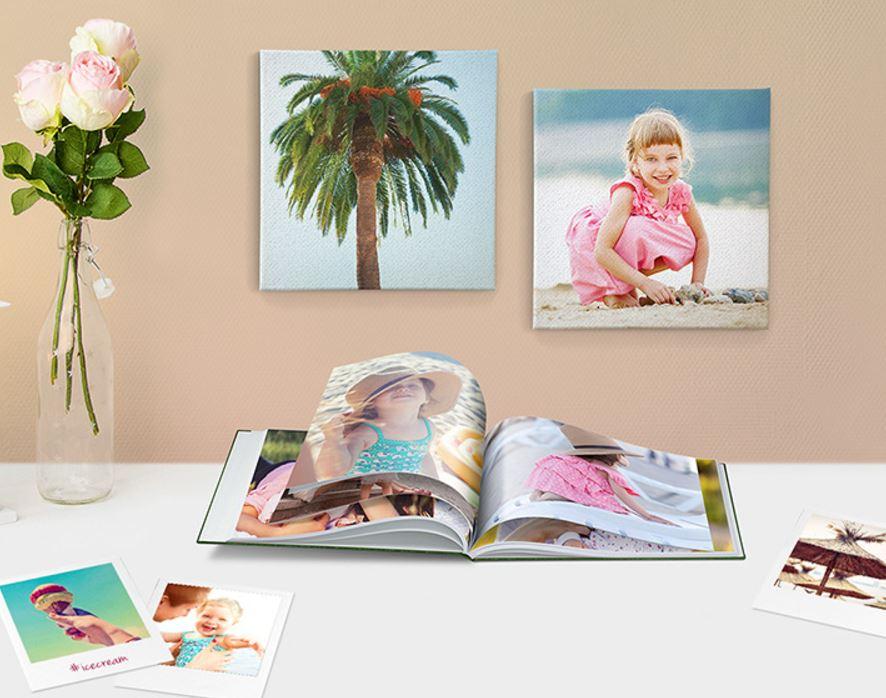 Fotobücher, Wandbilder, Dekoration, Abzüge ... zu massiven Rabatten von bis zu 72%, myphotobook bei vente privée,