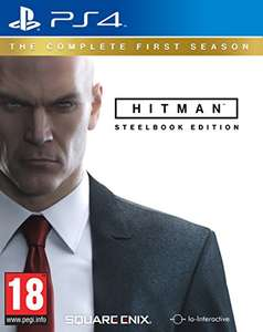 Hitman Die komplette erste Season - Steelbook Edition (PS4/Xbox One) für 25,81€ (Amazon.co.uk)