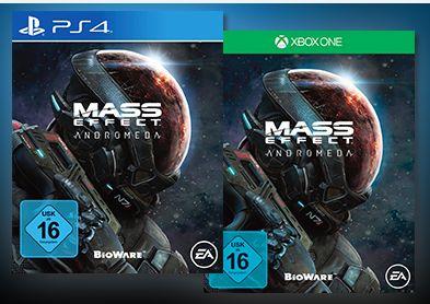 Mass Effect: Andromeda (Playstation 4 und Xbox One) für je 29,99€ versandkostenfrei [Saturn LNS]