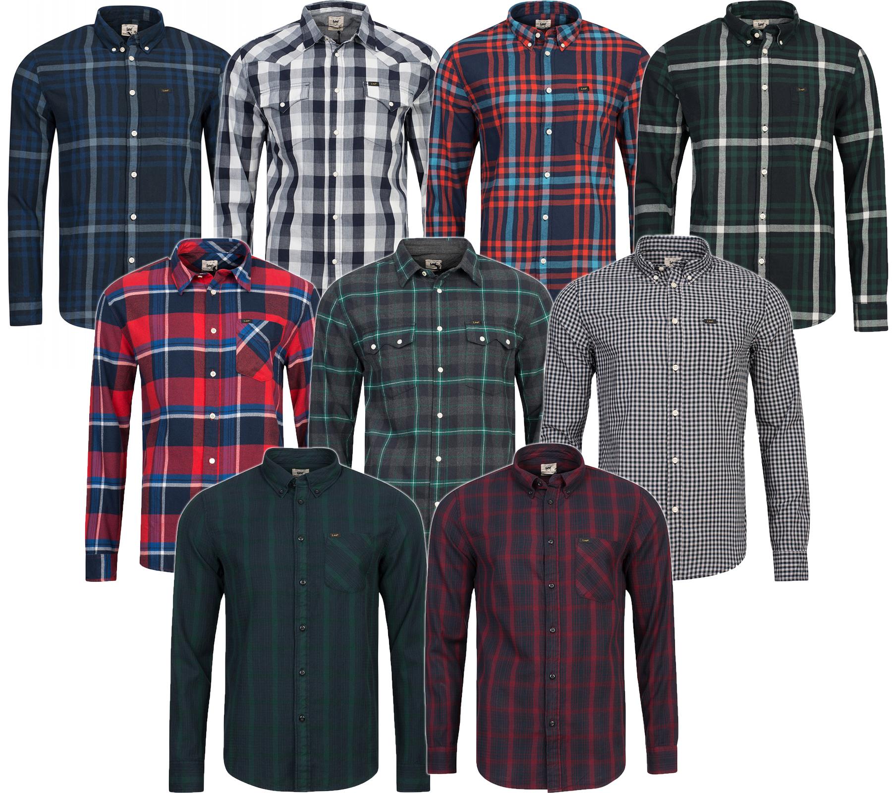 Lee Button-Down Karo-Hemd für 9,99€ @outlet46
