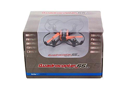 [Amazon.de-Prime] XciteRC 15008000 - Ferngesteuerter RC Quadrocopter Drohne, Rocket 65XS 3D, 4 Kanal RTF