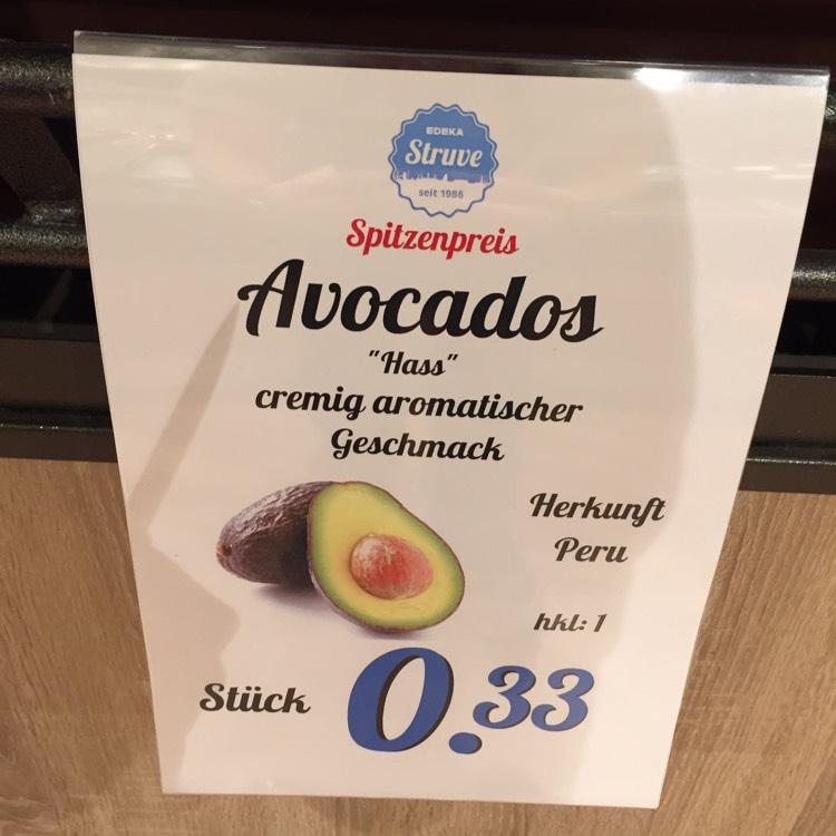 "Avocado ""Hass"" Edeka struve bahrenfeld"