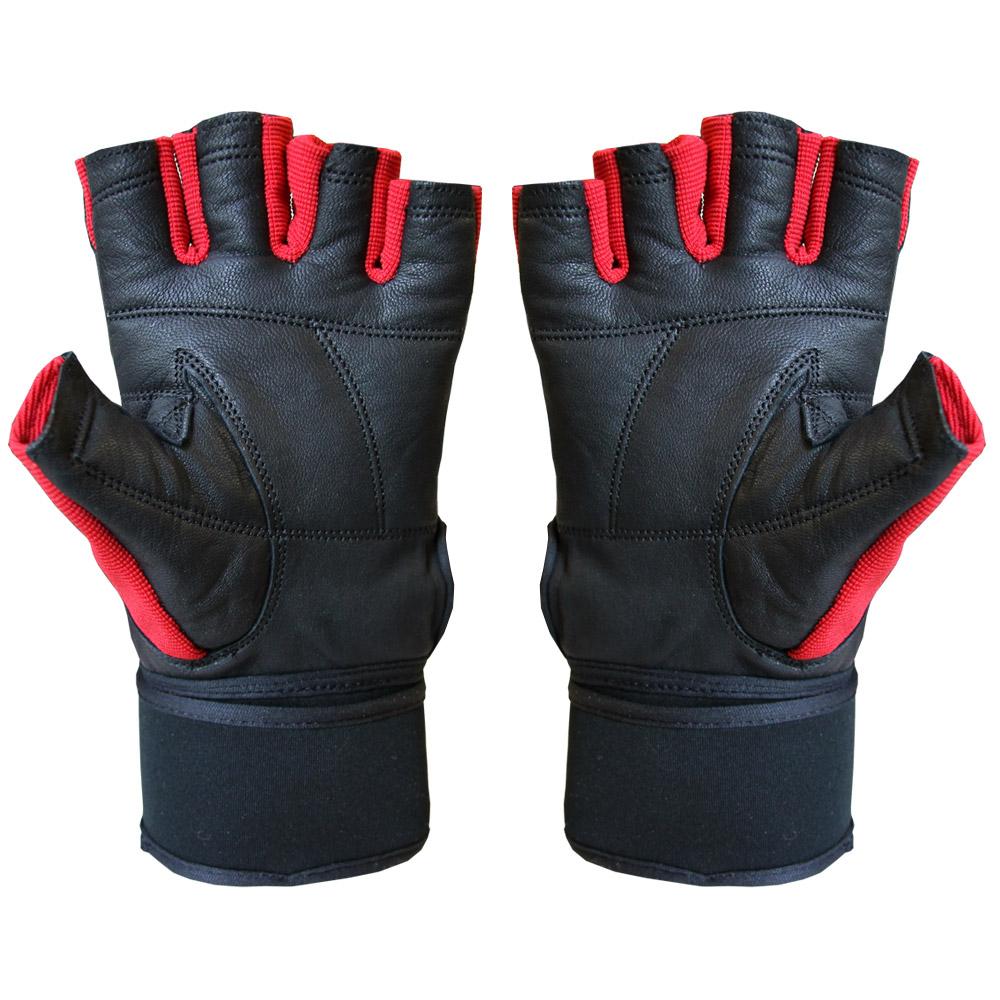 JEETA Fitnesshandschuhe aus Leder mit Handgelenkbandage PRO-X20 für 7,95€ [fitworld24]