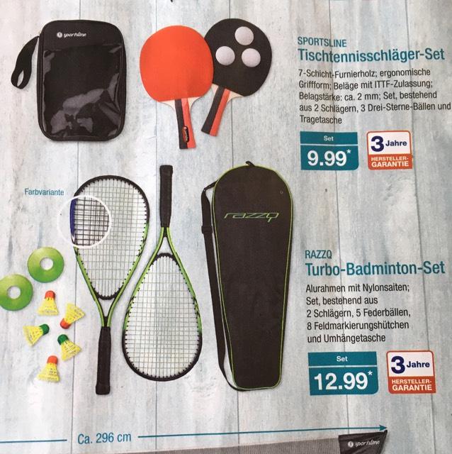 Aldi-Nord: Einsteiger Speed-Badminton Set