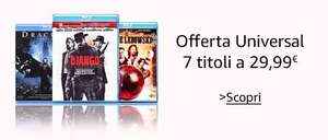 [amazon.it] 7 BluRays (oder DVDs) für 34,09€ (29,99+VSK)