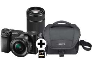 (Saturn lokal Gelsenkirchen-Buer) Sony Alpha 6000 Kit Bag Black