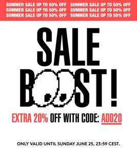 Caliroots Sale Boost Extra 20%