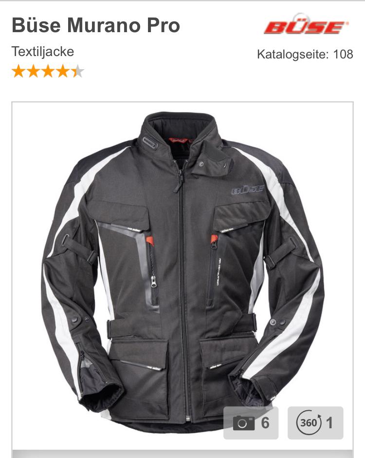 [louis] Motorradjacke Textil Büse Murano Pro