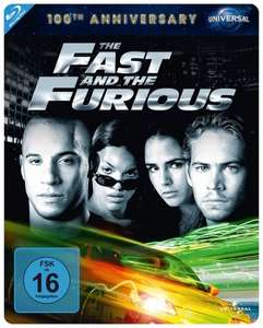 The Fast And The Furious - 100th Anniversary Limited Steelbook Edition (Blu-ray) für 6,89€ (Media Dealer)