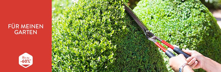 """B4F Gartenaktion """"Für meinen Garten"""" mit Bewässerungssystemen und Werkzeug ab 6,99€"""