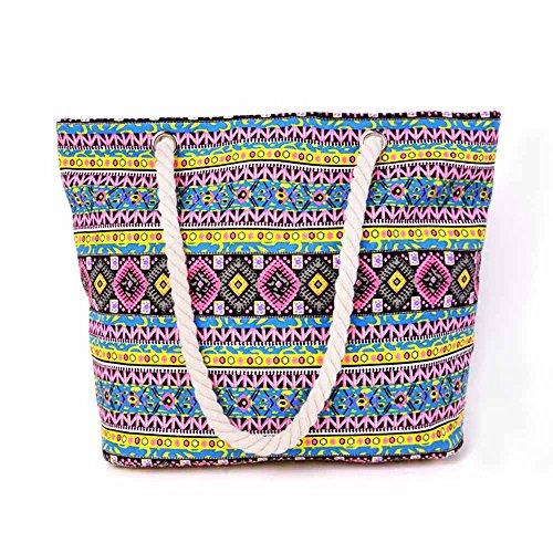 Bunte Strandtasche für Damen für 12,80 [Amazon]