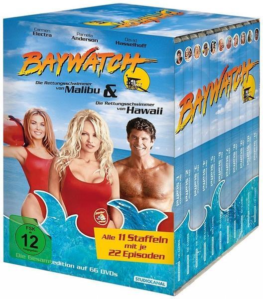 Baywatch - Die Rettungsschwimmer von Malibu: Gesamtedition / Limited Edition DVD @ Thalia