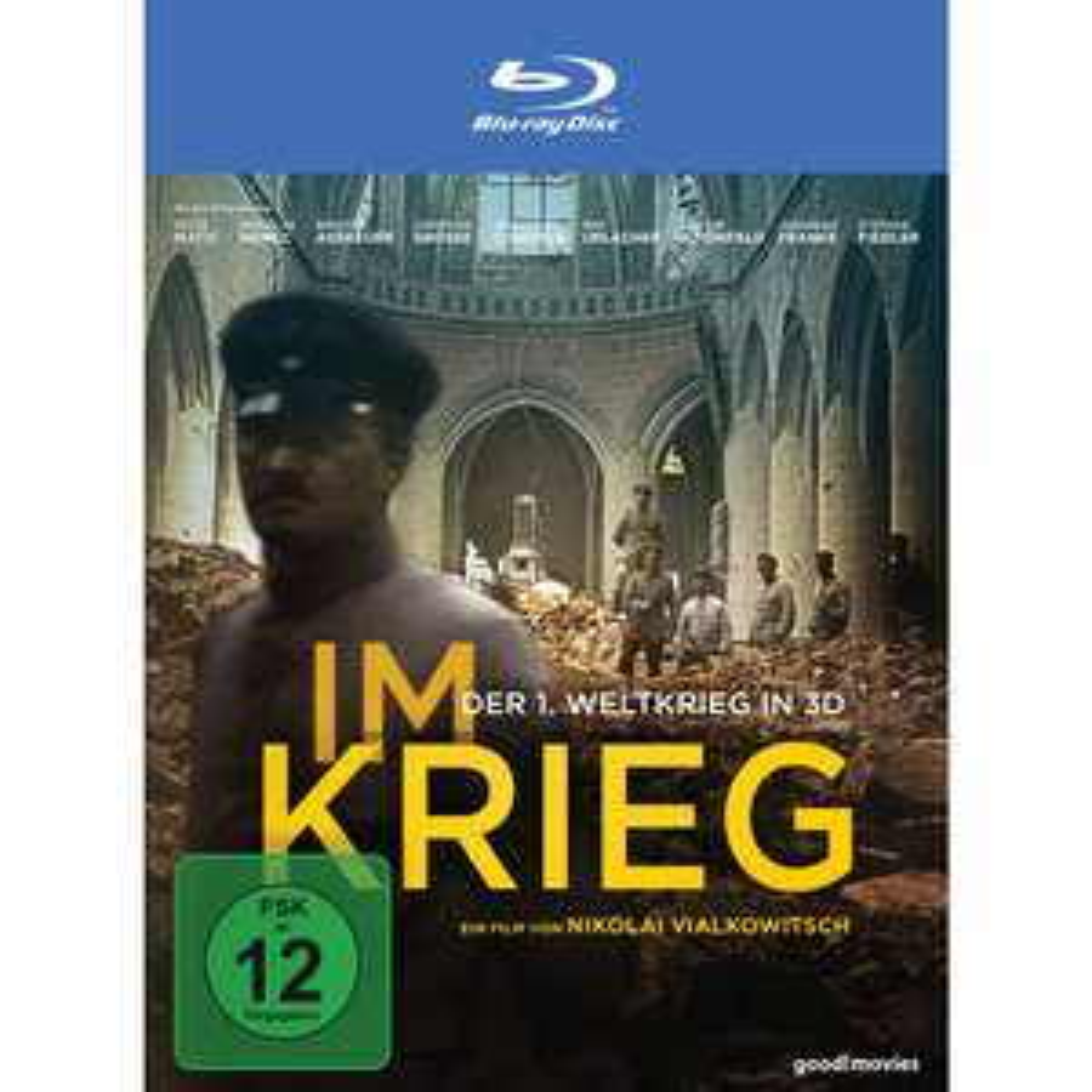 Im Krieg - Der 1. Weltkrieg 3D Blu-ray (inkl. 2D-Version) für 4,99€ (Müller)