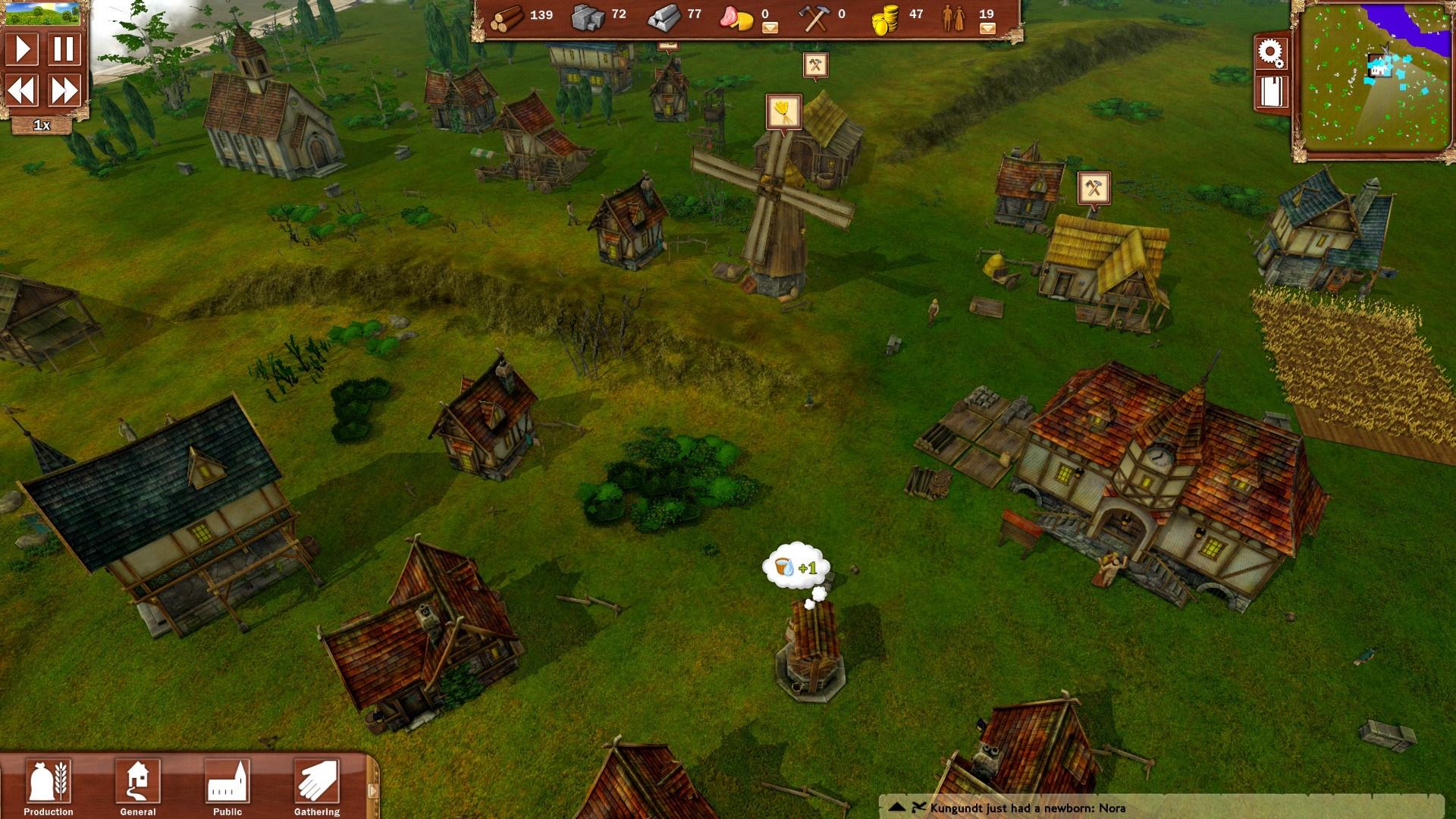 [GameSessions] Villagers: Mittelalterliche Aufbau- und Menschensimulation gratis