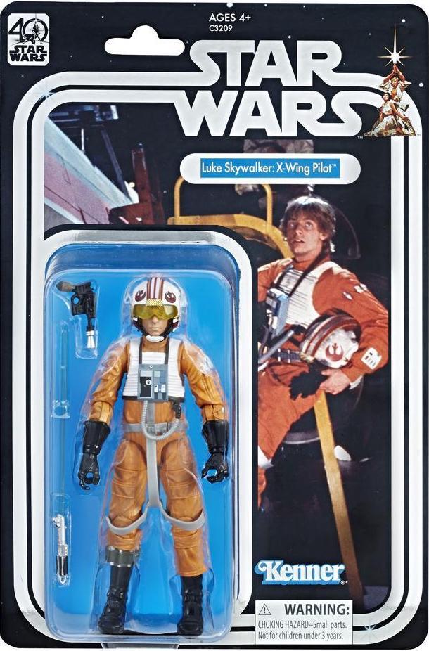"""[Vorbestellung] Star Wars Black Series 6"""" / 15 cm 40th Anniversary Luke Skywalker X-Wing Pilot [Celebration exclusive]"""