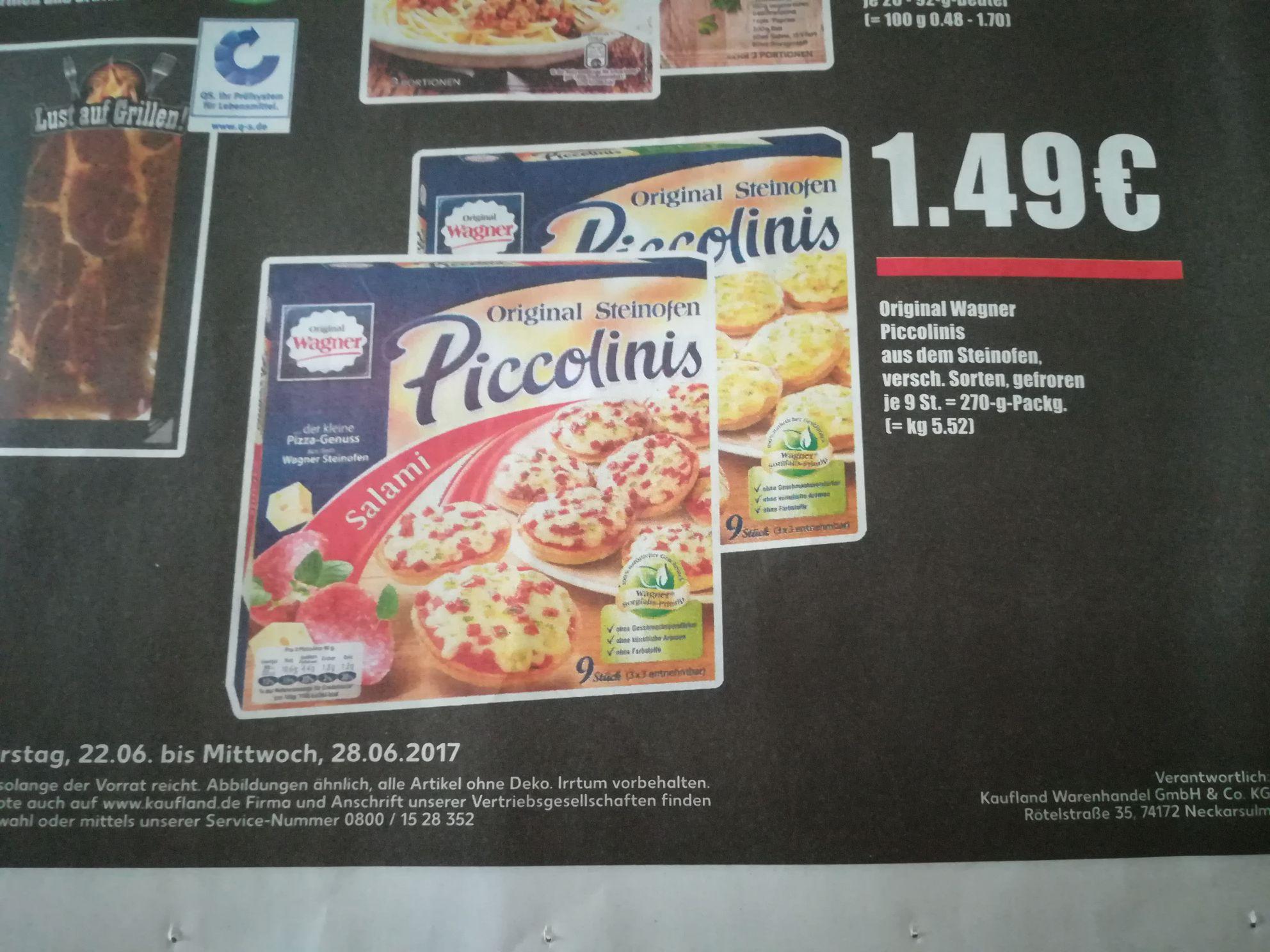 Original Wagner Piccolinis  1,49€ (Kaufland)