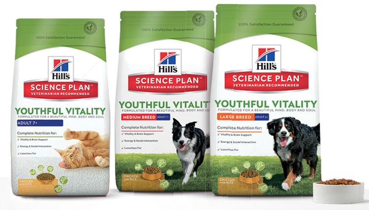 [GzG] Hill's Science Plan Youthful Vitality: Katzen- oder Hundefutter Gratis testen und Rabatt
