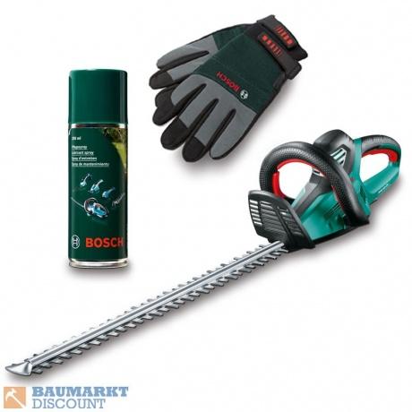 Bosch Heckenschere AHS 70-34 + Pflegespray & Handschuhe 157,52€