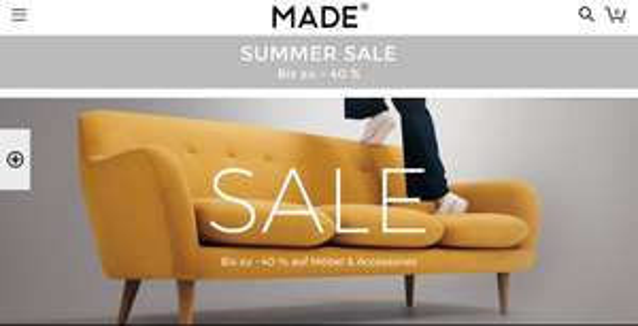 Bis zu 40% Rabatt auf Designermöbel zu (manchmal) bezahlbaren Preisen (made.com)