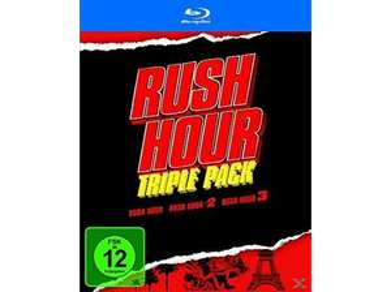 Rush Hour - Trilogy (Blu-ray) für 14,93€ inkl. VSK (Alphamovies)