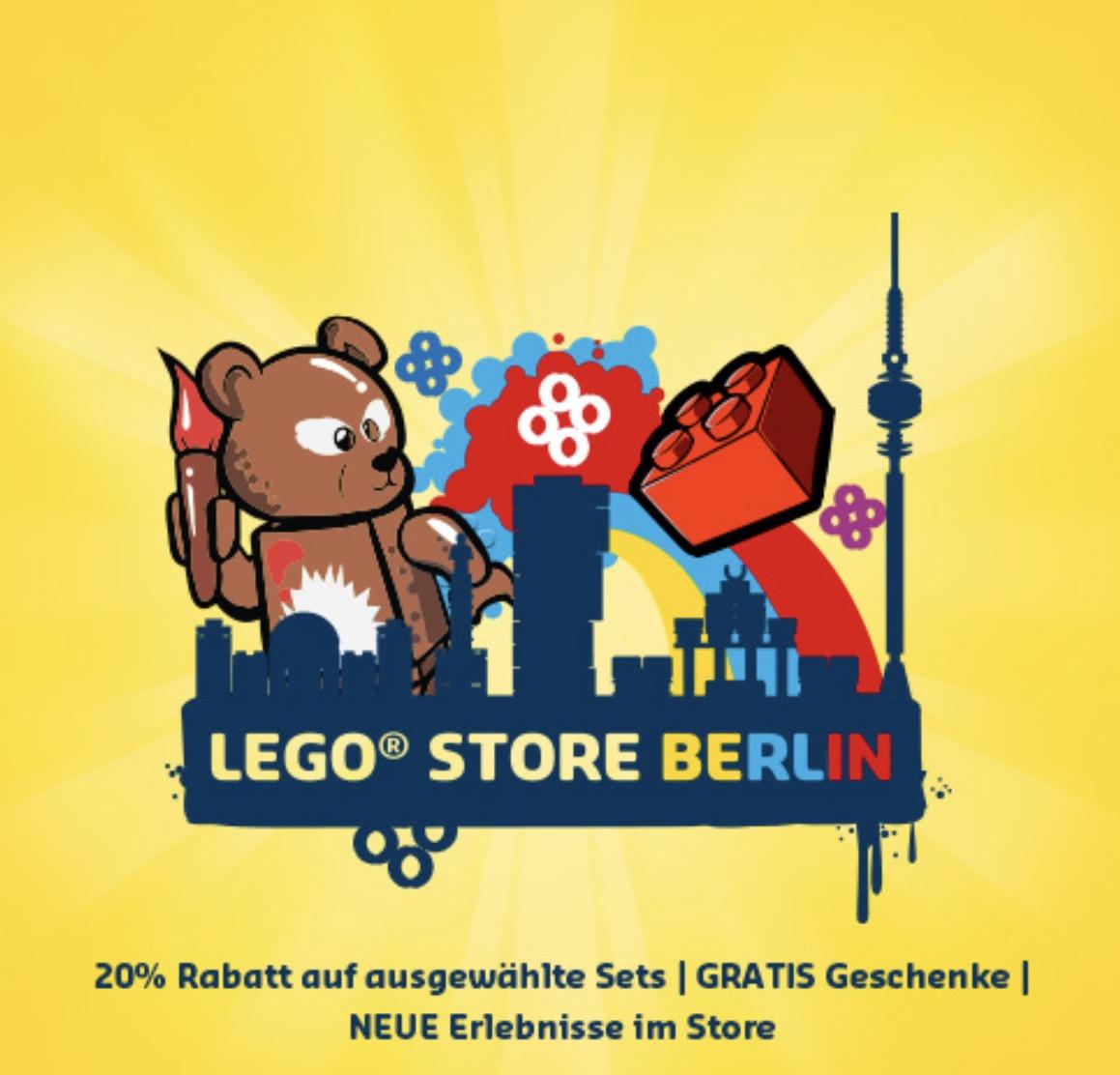 LEGO Store Berlin: Eröffnungsangebote 20% z.B VW Käfer für 71,99€