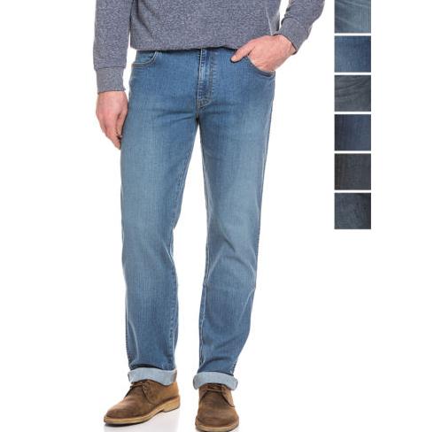 Guter Wrangler-Sale mit 20%-Gutschein, z.B. Wrangler Stretch-Jeans Texas Straight Fit in vielen Waschungen für 19,90€ statt ca. 40€