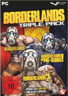 Borderlands: Triple Pack (Steam) für 20,99€ (Steam)