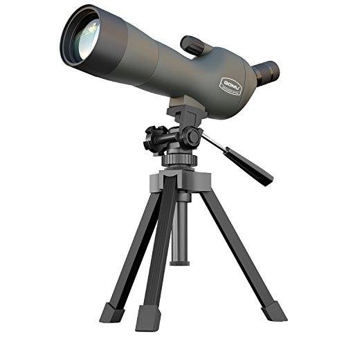 Spektiv (20-60x)60 für 52,99€ - Fernrohr / Teleskop mit 20-60x Zoom, Stativ und Tasche