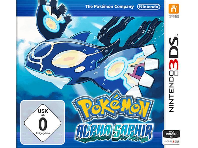 [Mediamarkt] Pokémon Alpha Saphir [Nintendo 3DS] für 26,-€ Versandkostenfrei