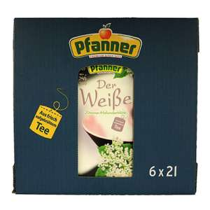 (Amazon Plus) 6x 2l Pfanner Weißer Tee | 5,87€