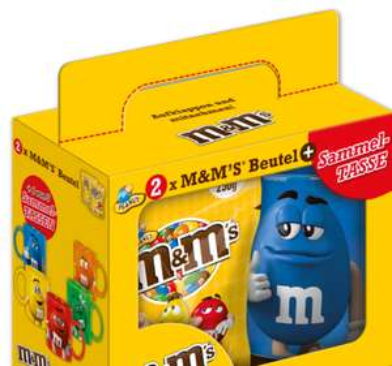 [Penny] Set aus M&M'S + Tasse