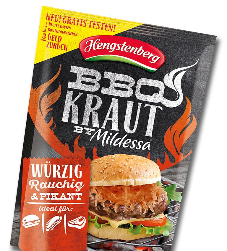 Gratis testen BBQ Kraut
