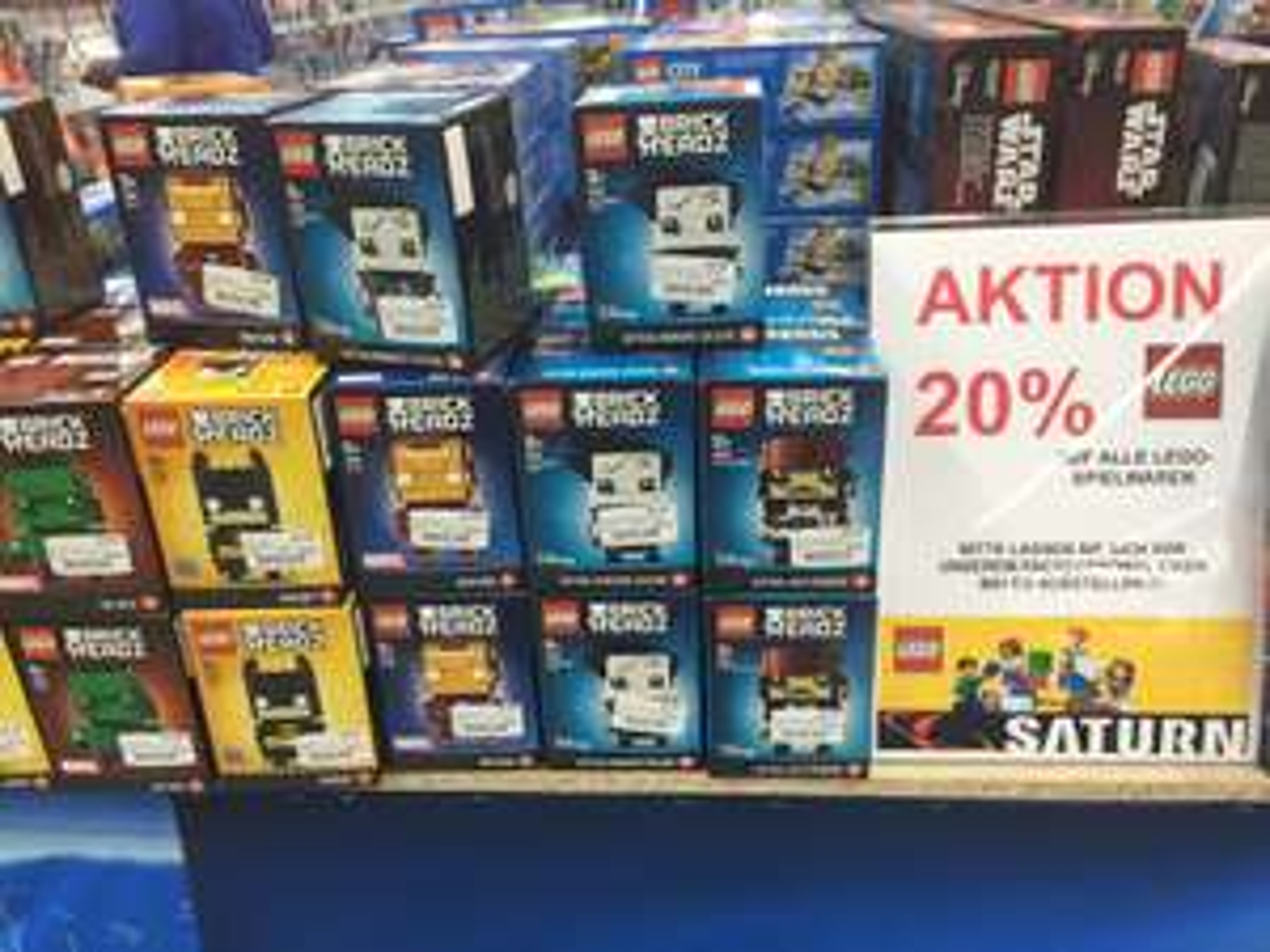 Lokal Saturn Erlangen 20% Auf Lego Sortiment