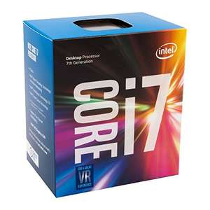 Intel Kaby Lake Core i7-7700, 4x 3.60GHz, boxed mit Lüfter (BX80677I77700) [Amazon.fr]