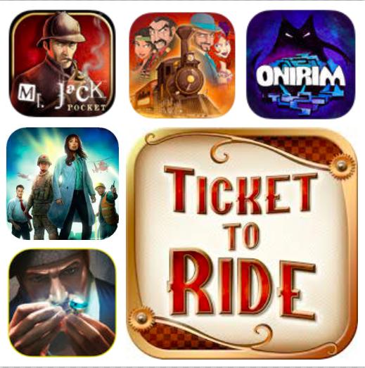 [iOS/Android/Steam] Asmodee Summersale (digitale Versionen von Brettspielen wie Pandemic, Ticket to Ride, Colt Express und weitere bis zu 70% reduziert)