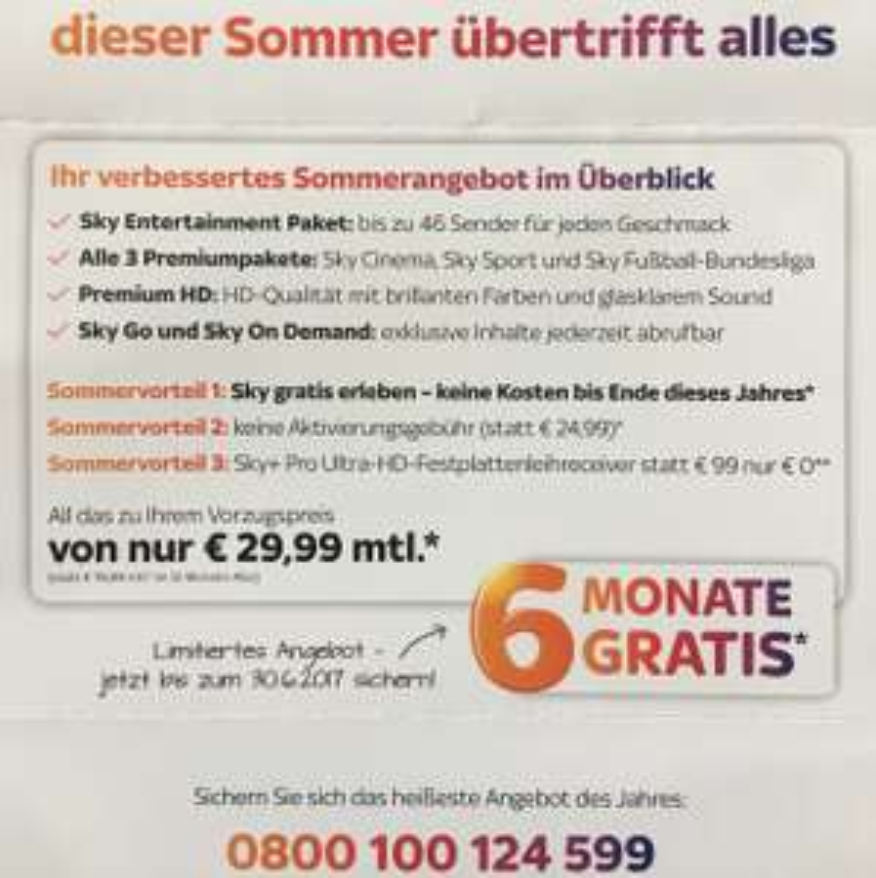 [Rückholer!] 12 Monate Sky KOMPLETT für 179,94€ bzw  192,84€